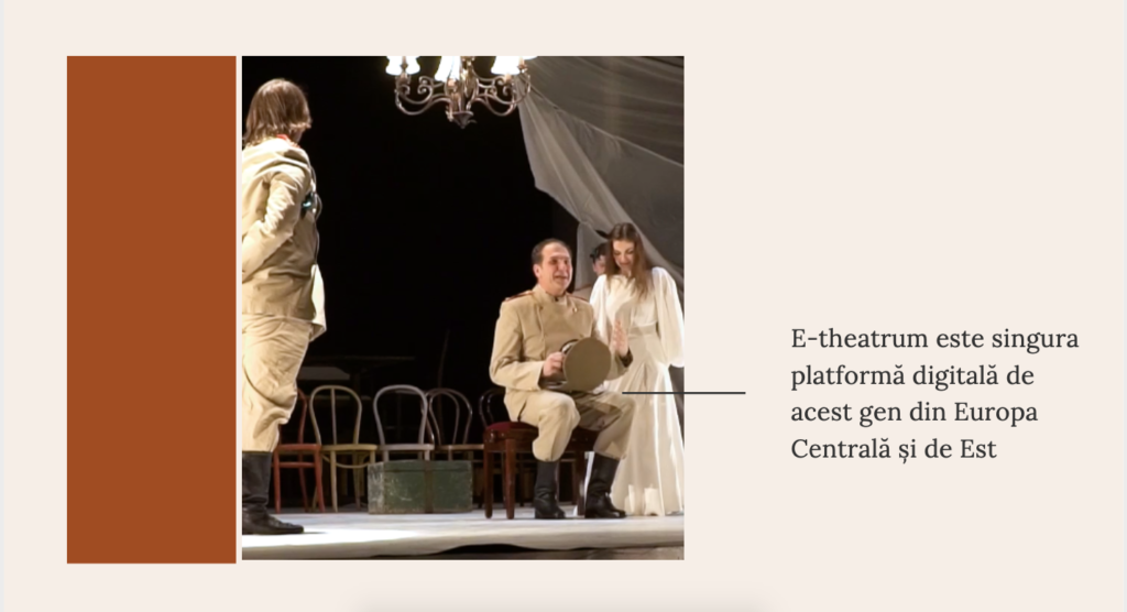 teatru online, e-theatrum prezentare