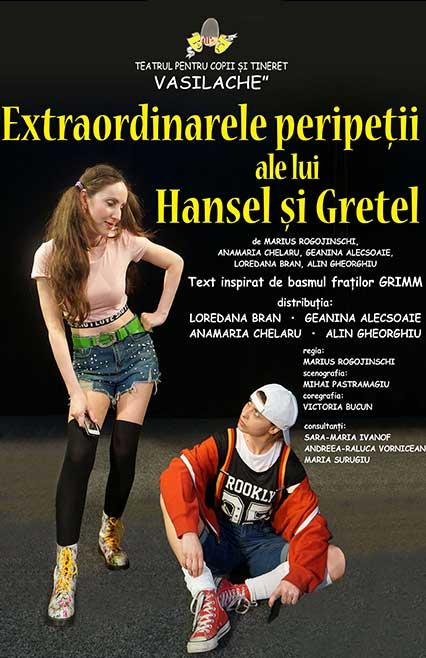 Extraordinarele-Peripetii--ale-lui-Hansel-si-Gretel, spectacole, povesti, teatru online