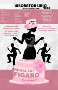 Nunta lui Figaro afis spectacol muzical