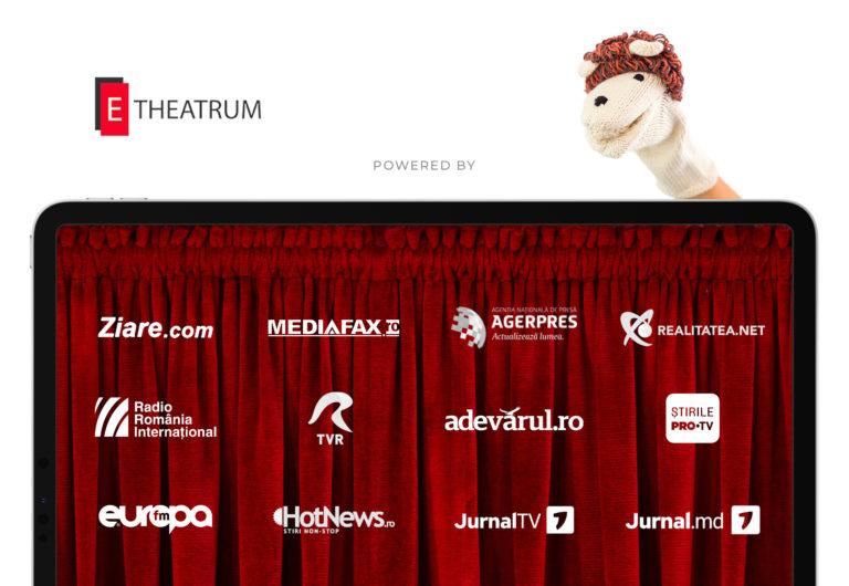 media 2 e-theatrum, teatru, teatru online
