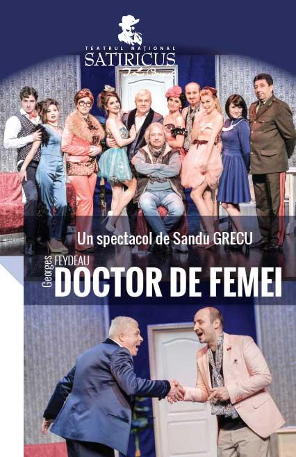 afis-DOCTOR-DE-FEMEI, teatru online, teatru, e-theatrum