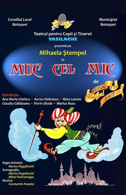 afis-muc-cel-mic-spectacol-de-teatru-pentru-copii-e-theatrum, povesti, teatru online