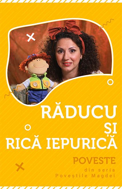Răducu și Rică Iepurică - poveste e-theatrum