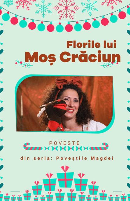 afis poveste Florile lui Mos Craciun