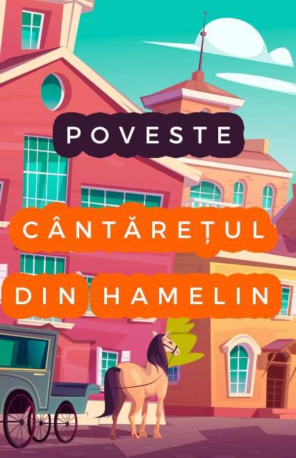 Cântărețul din Hamelin, poveste de Charles Perrault