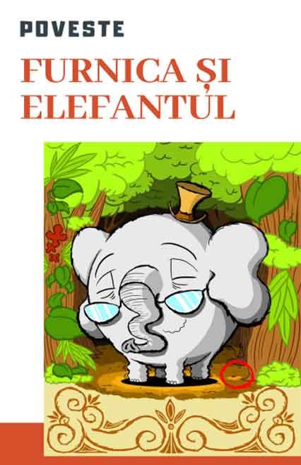 poveste pentru copii furnica si elefantul