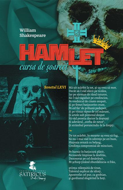HAMLET - Cursa de șoareci - piesa de teatru de William Shakespeare - afis