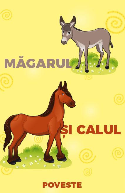 magarul si calul, poveste, povesti, teatru online