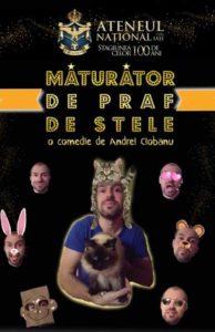 maturator-de-praf-de-stele-afis, teatru online, teatru, e-theatrum