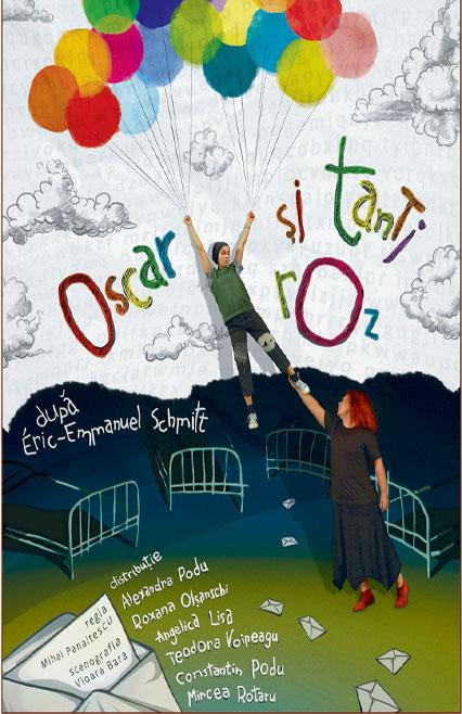 Oscar și Tanti Roz spectacol de teatru după romanul lui Eric-Emmanuel Schmitt