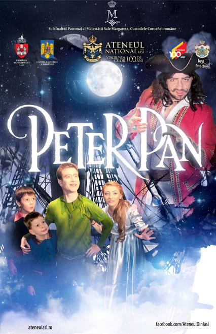 peter-pan-iasi-afis, teatru, teatru online, e-theatrum