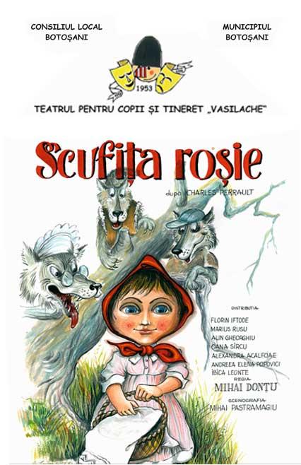 spectacol-de-copii-scufita-rosie-afis-e-theatrum, teatru online