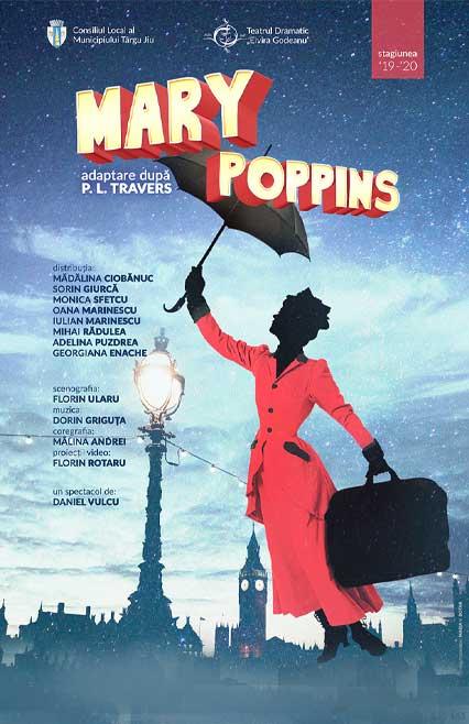 Mary Poppins spectacol de teatru adaptare după P.L. Travers