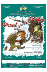 ursul-pacalit-de-vulpe-spectacol-de-papusi-afis-e-theatrum, teatru online